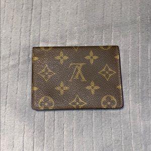 Louis Vuitton ID card holder